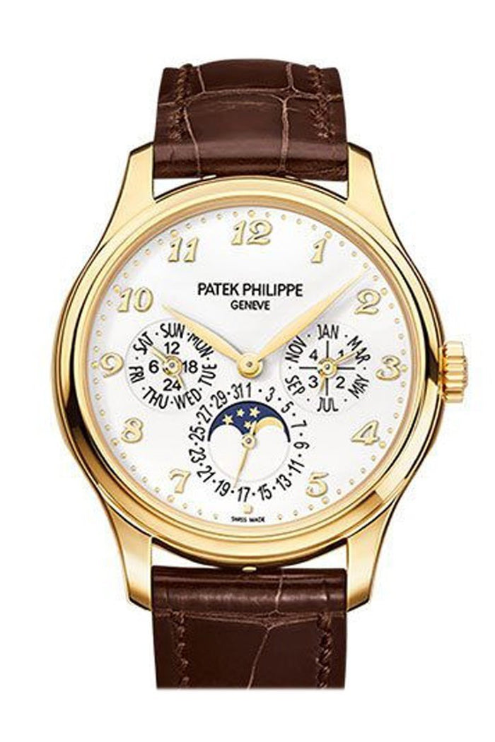 Patek Philippe Calatrava 18k yellow Gold White Dial 38mm Men's Watch 5327J-001