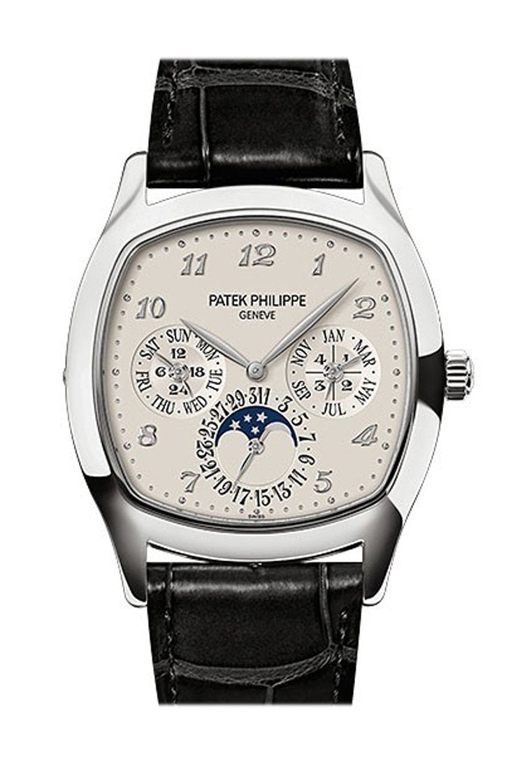 Patek Philippe Grand Complications Silver Dial Automatic 37Mm Mens Watch 5940G-001