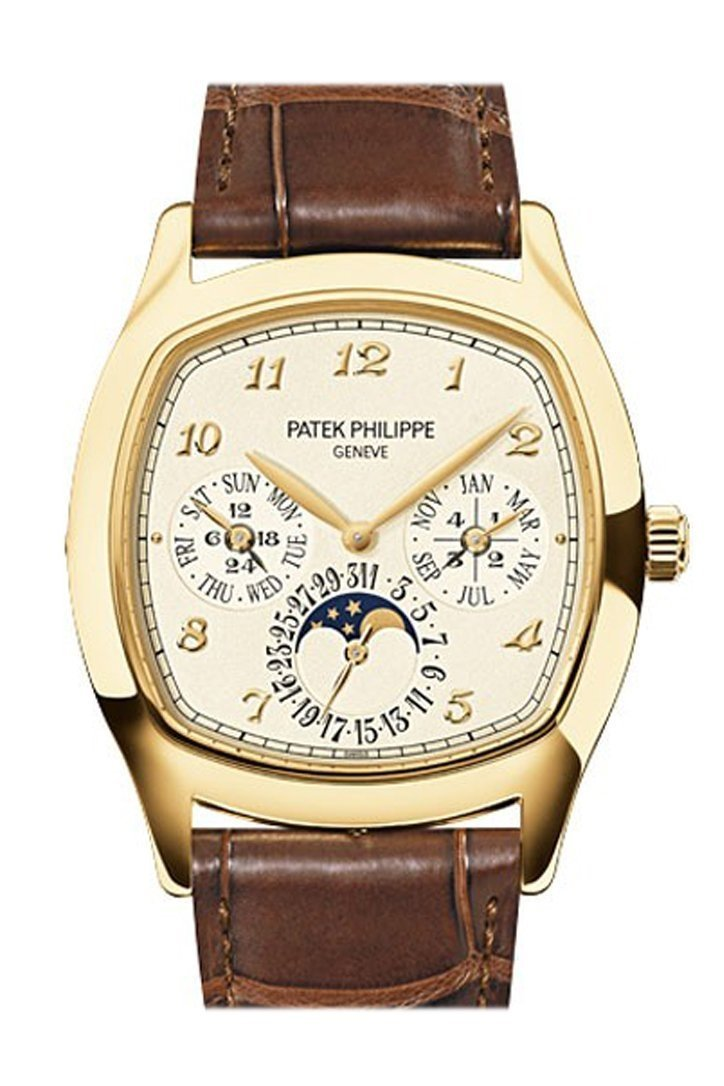 Patek Philippe Grand Complications Cream Dial Automatic Mens Watch 5940J-001 Ivory