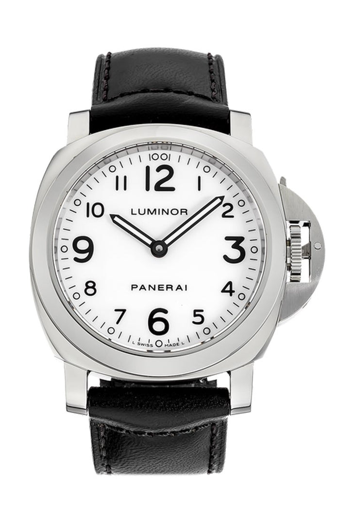 Panerai Luminor Base Stainless Steel Manual PAM00114