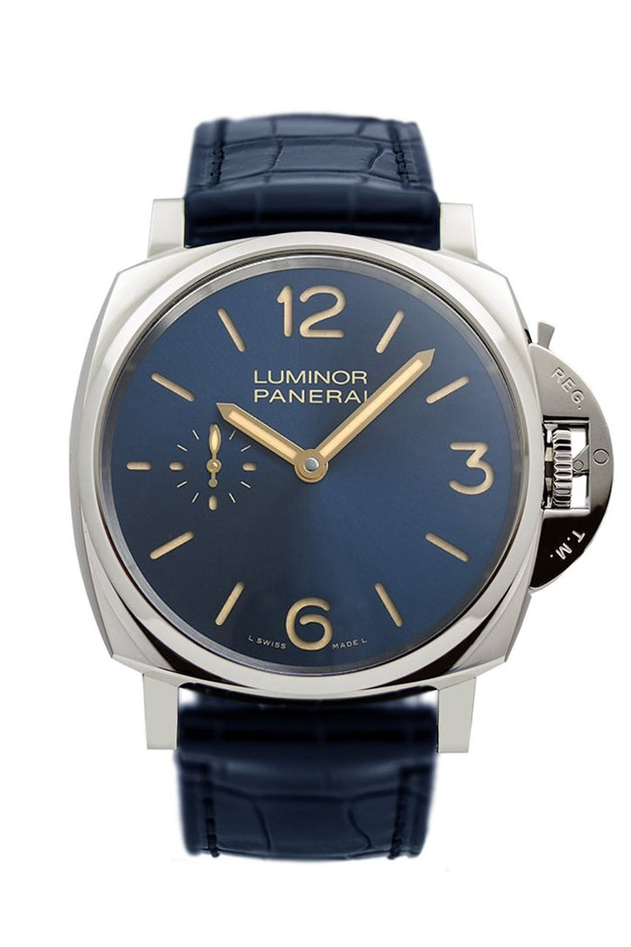 Panerai Luminor Blue Dial Men's Watch PAM00728