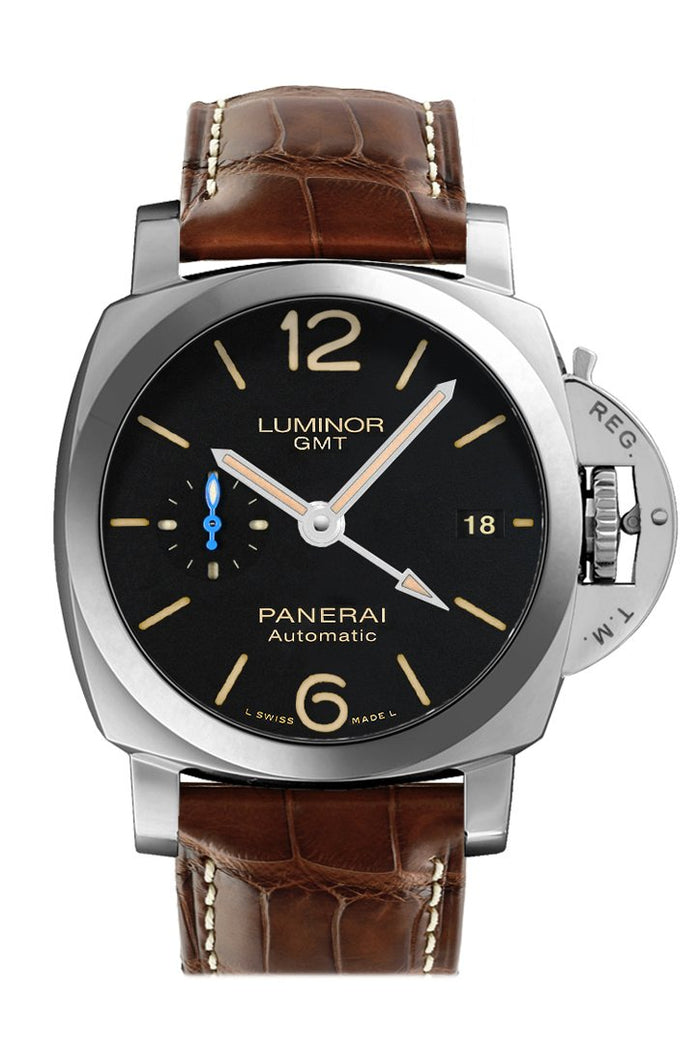 Panerai Luminor 3 Day 1950 Automatic Black Dial Men's Watch PAM01320