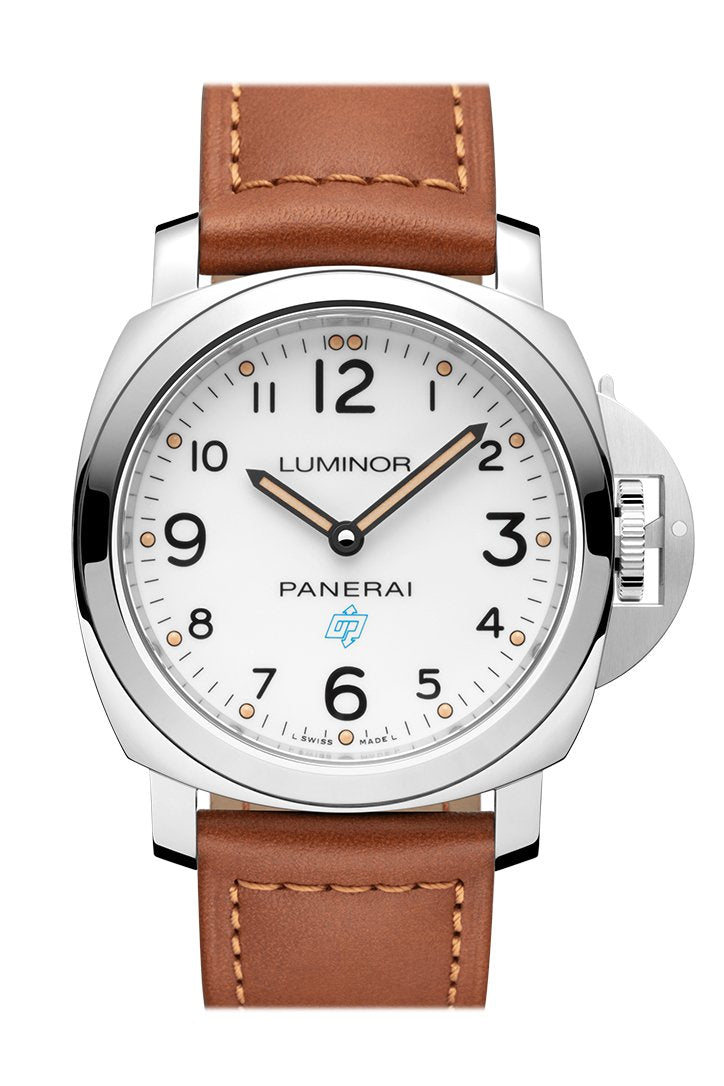 Panerai Luminor Base Logo 3 Days Acciaio Men's Hand Wound Watch PAM00775