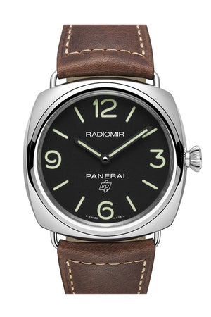 Panerai Radiomir Brown Leather Mens Watch Pam00753