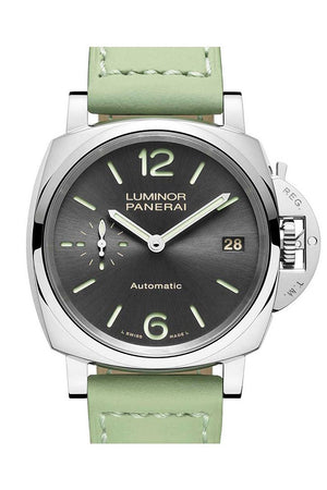 Panerai Luminor Automatic Grey Dial Mens Watch Pam00755