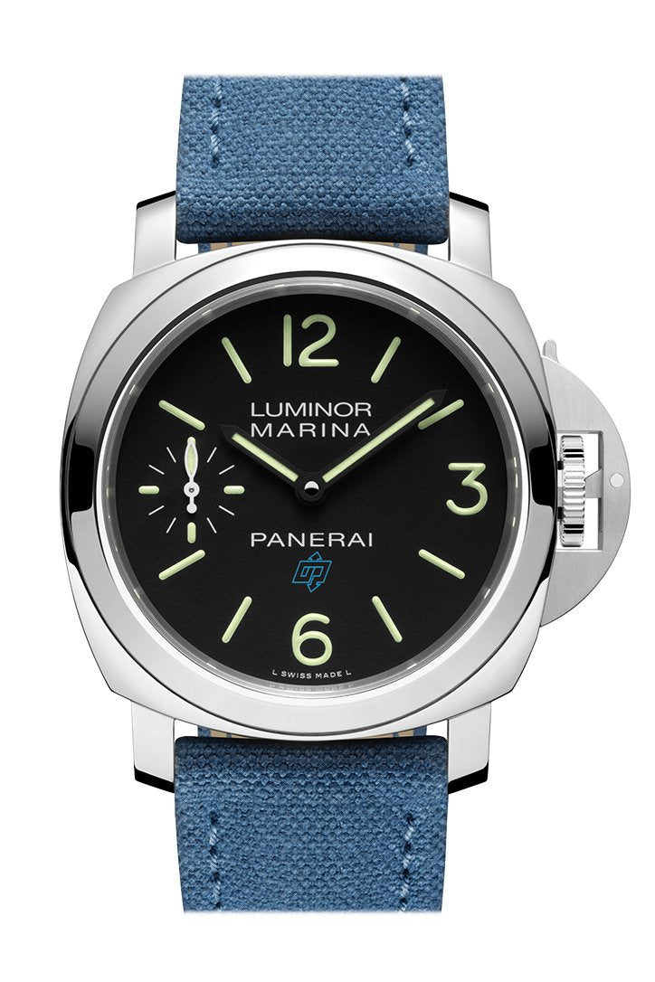 PANERAI Luminor 1950 3 Days GMT Automatic Acciaio Blue PAM01033
