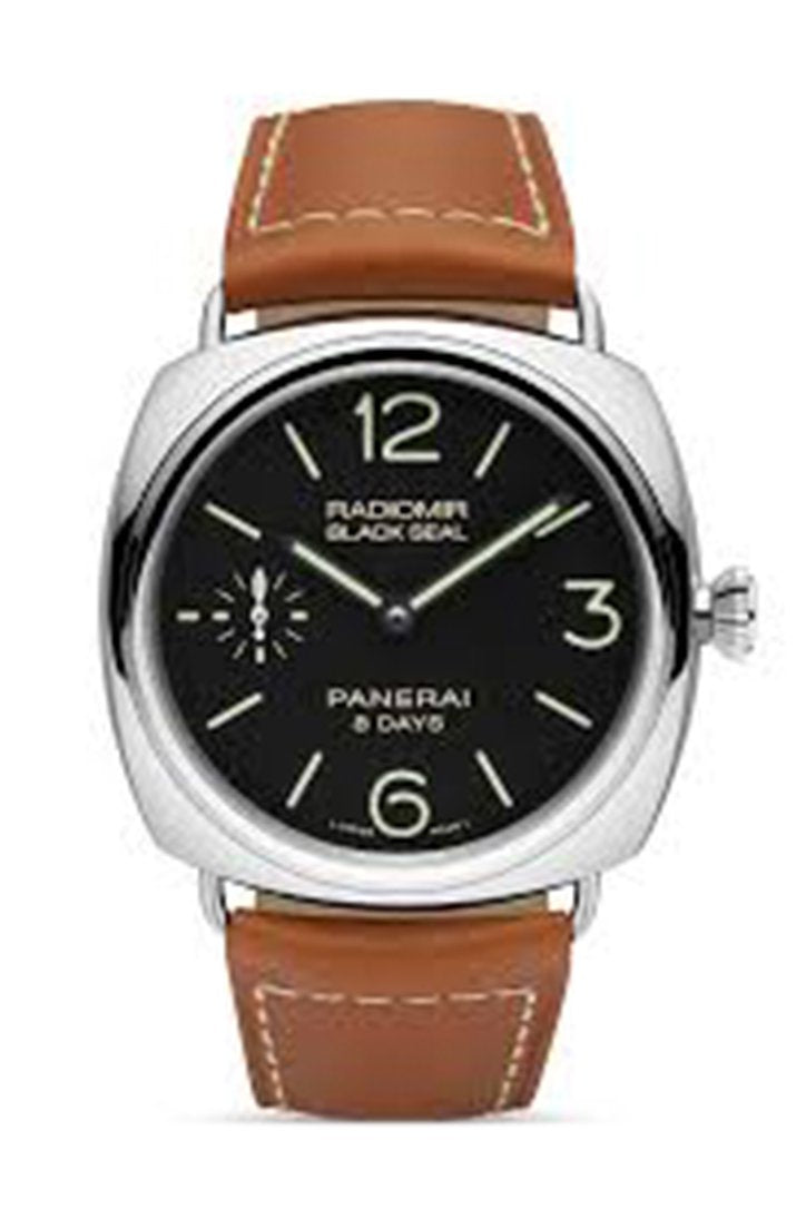 Panerai Radiomir Black Seal 8 Days 45Mm Mens Watch Pam00609