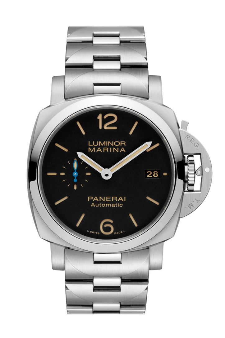 Panerai Luminor Marina 1950 Automatic Black Dial Men's Watch PAM00722