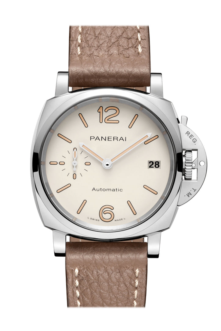 Panerai Luminor Due Automatic White Dial Men's Watch PAM01043