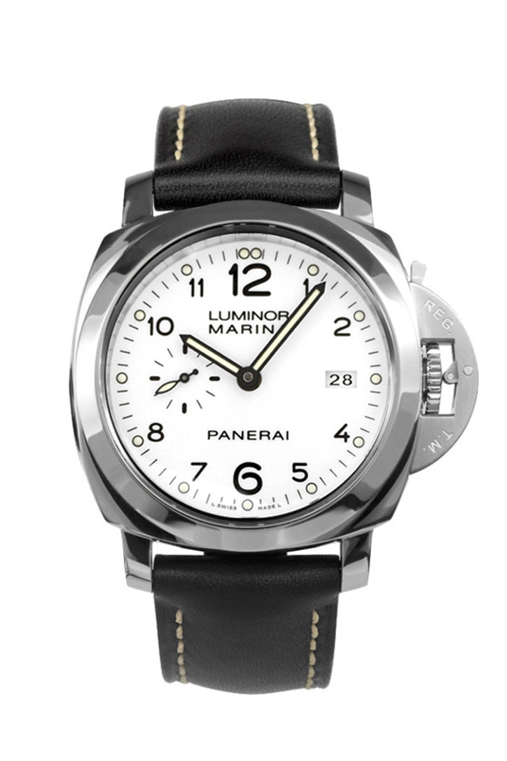 Panerai Luminor 1950 Automatic White Dial Men's Watch PAM00499