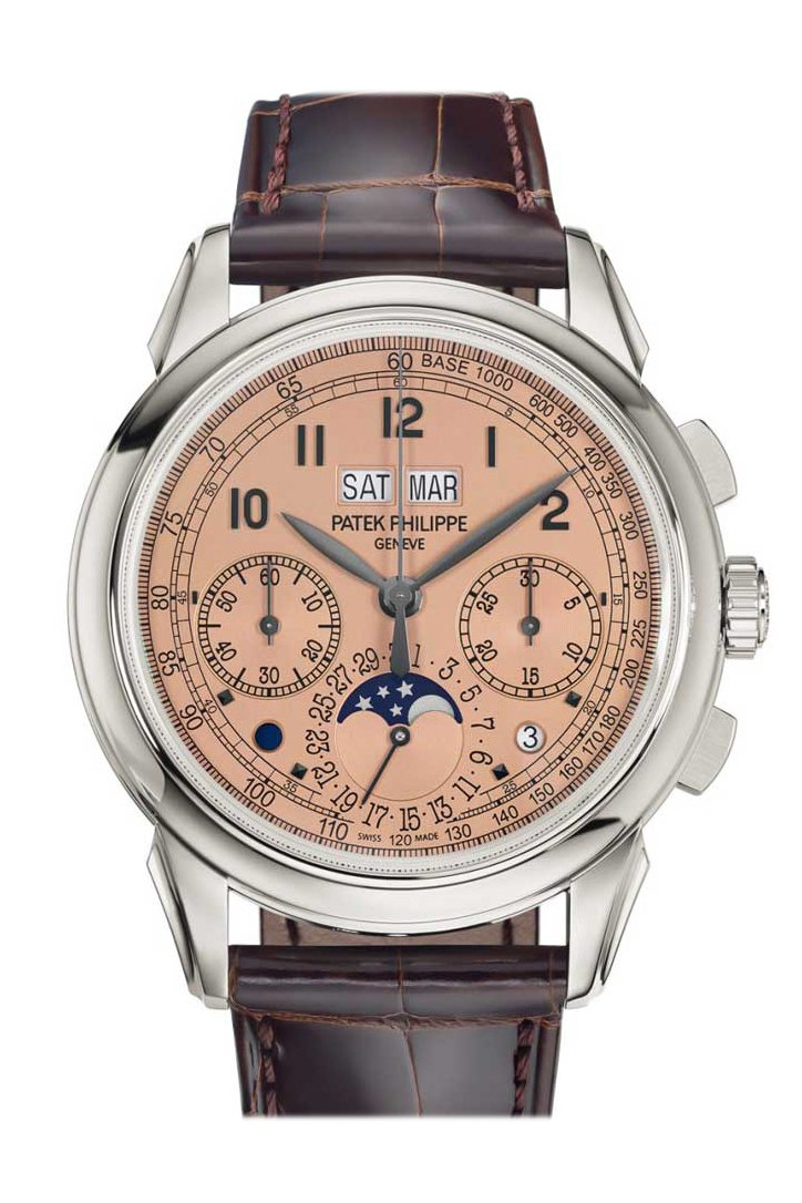 Patek Philippe Perpetual Calendar Chronograph 5270P In Platinum 5270P-001 Watch
