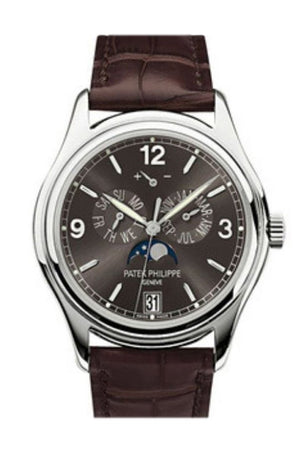Patek Philippe Complications Slate Grey Dial Automatic Mens Annual Calendar Watch 5146G-010