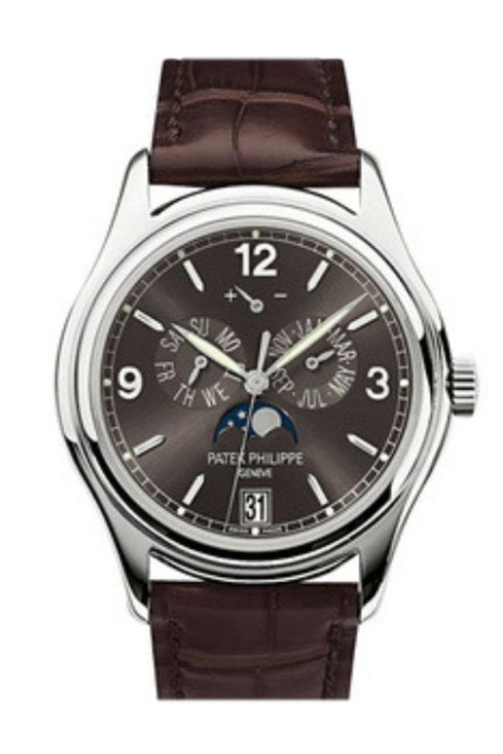 Patek Philippe Complications Slate Grey Dial Automatic Men's Annual Calendar Watch 5146G-010