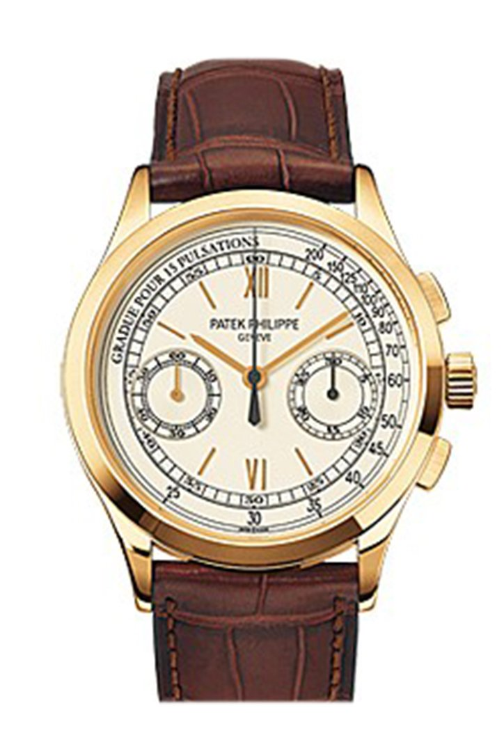 Patek Philippe Complications Chronograph Opaline White Dial Mens Watch 5170J-001