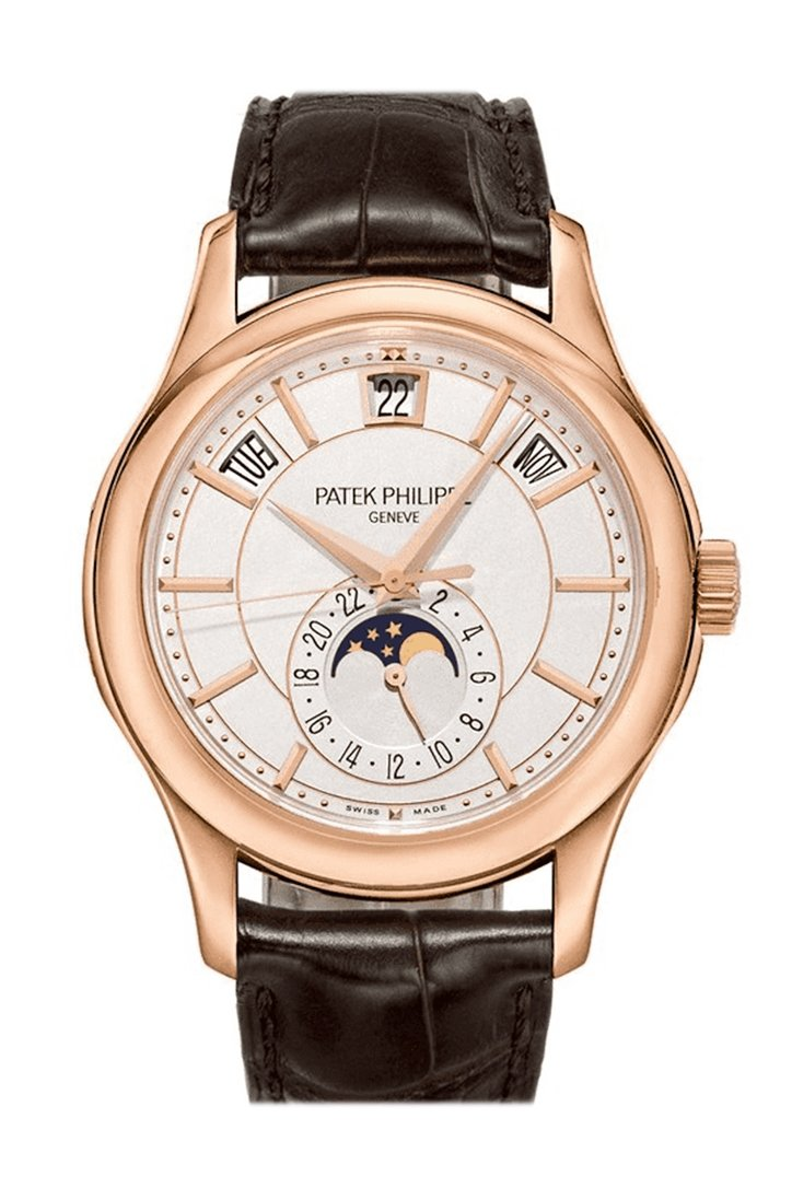PATEK PHILIPPE Calatrava Automatic Silver Dial 18kt White Gold Men's Watch 5296G-001