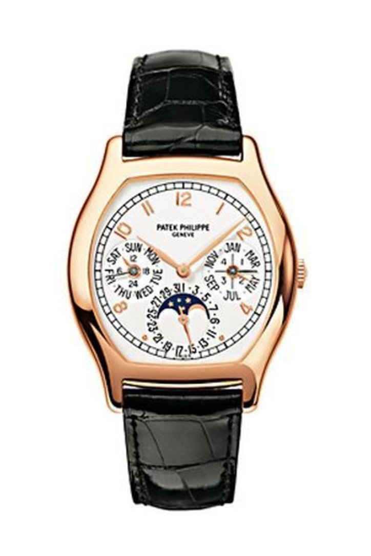 Patek Philippe Complicated Perpetual Calendar 18Kt Rose Gold Mens Watch 5040R