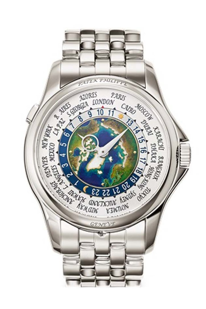 Patek Philippe World Time Automatic Blue Dial Men's Watch 5131/1P-001