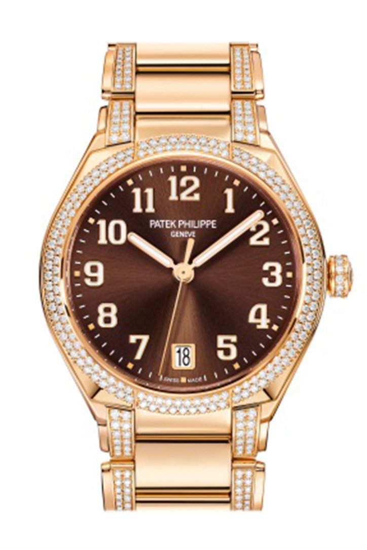 Patek Philippe Twenty 4 Automatic Rose Gold Brown Dial 7300/1201R-010 Watch