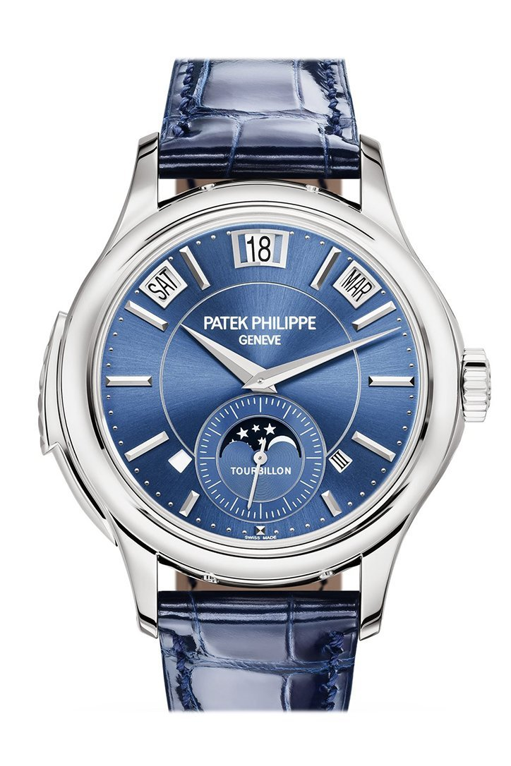 Patek Philippe Tourbillon Minute Repeater Perpetual Calendar White Gold 5207G-001  5207G