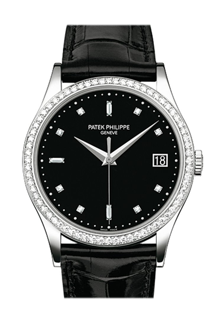 Patek Philippe Grand Complications Automatic Diamond White Dial Watch 4948G-010
