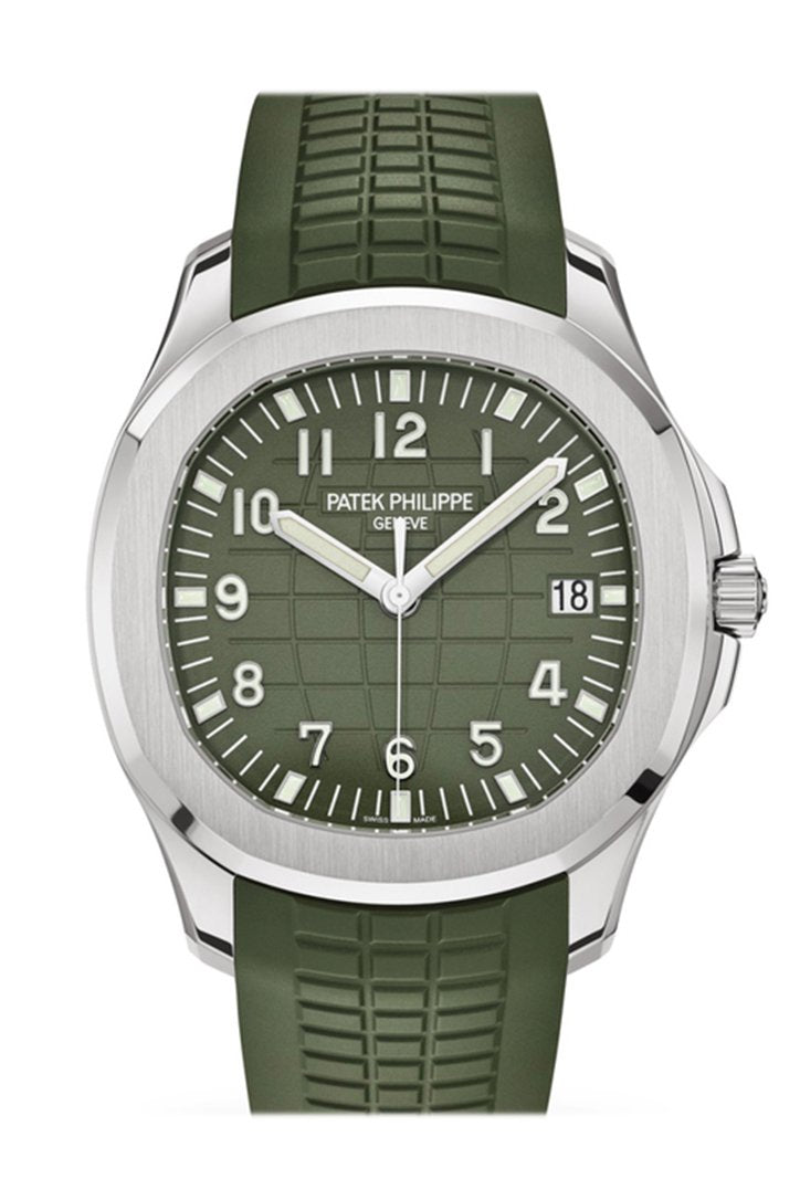 Patek Philippe Aquanaut Khaki Green Dial Watch 5168G-010