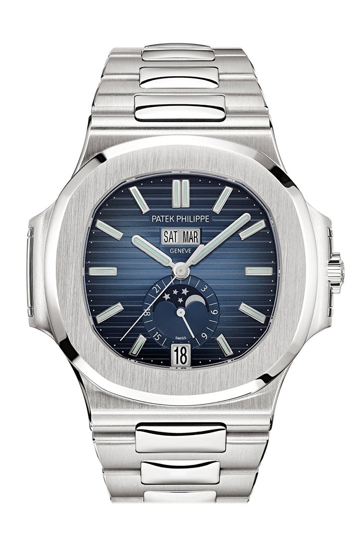 Patek Philippe Nautilus Automatic Blue Dial Men's Watch 5726-1A-014