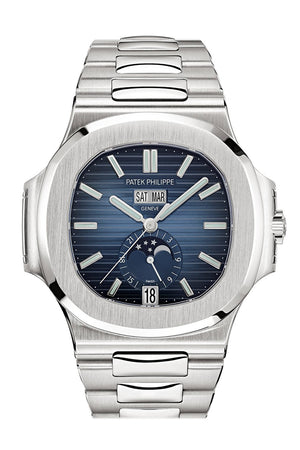 Patek Philippe Nautilus Automatic Blue Dial Men's Watch 5726-1A-014  5726/1A-014