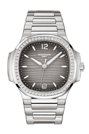Patek Philippe Nautilus Automatic Grey Dial Ladies Watch 7118/1200A-011