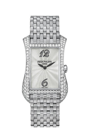 Patek Philippe Gondolo Serata Diamond Set White Gold Ladies Watch 4972/1G-001 4972