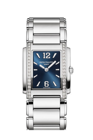 Patek Philippe Twenty four Blue Dial 30mm Ladies Watch 4910/1200A TWENTY~4