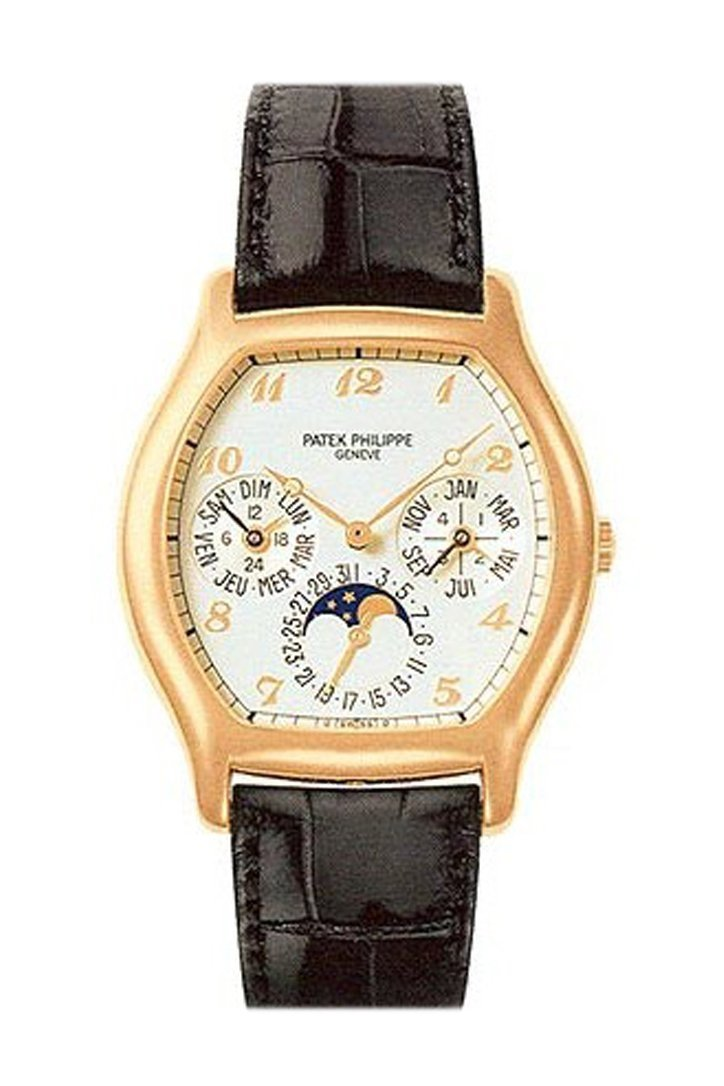 Patek Phillippe Complicated Perpetual Calendar A5040R Pre Owned White / None Pre-Owned-Watches