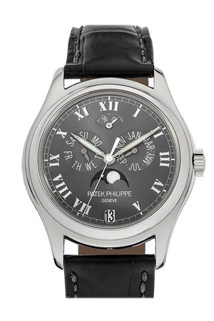 Patek Philippe Annual Calender Moonphase 5056P Pre Owned Grey / None Pre-Owned-Watches