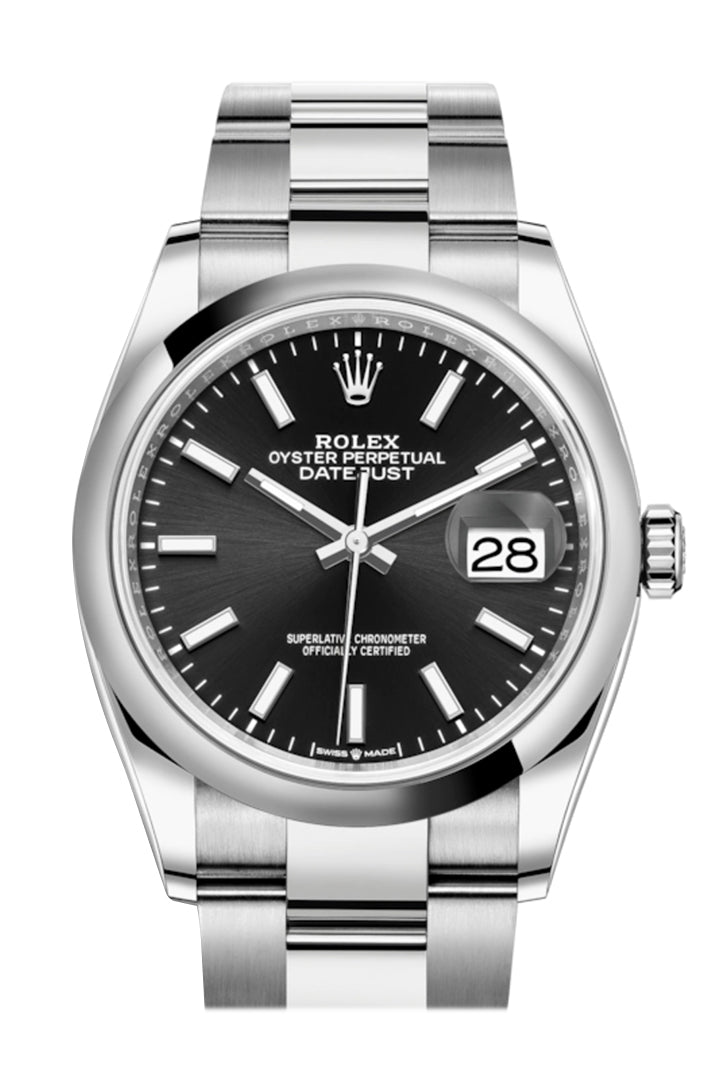 Rolex Datejust 36 Black Dial Automatic Watch 126200