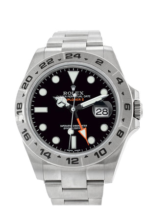 ROLEX Explorer II Black Dial Stainless Steel Men's Watch 216570
