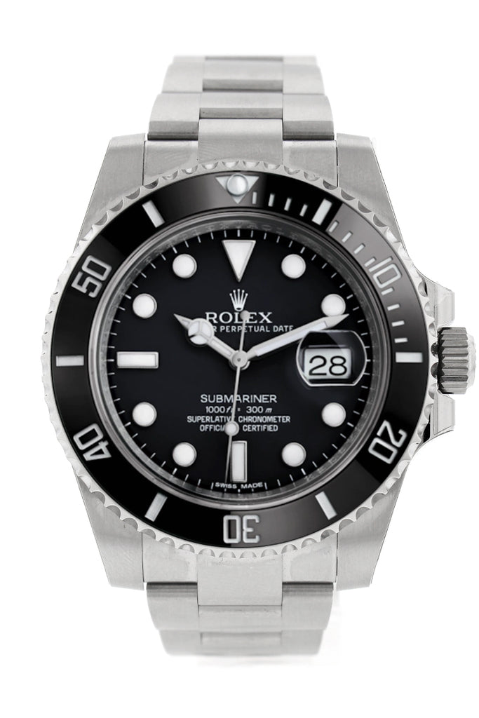 ROLEX Submariner Date 40 Black Dial Mens watch 116610LN 116610
