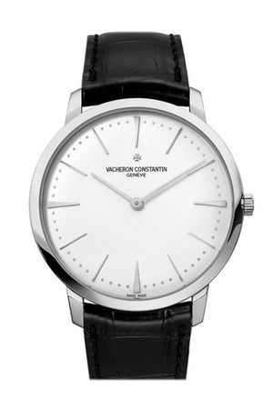Vacheron Constantin Patrimony Grand Taille White Gold Men's Watch 81180/000G-9117