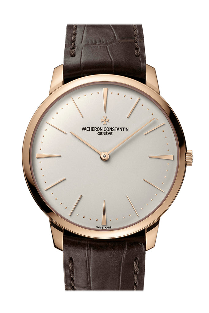 Vacheron Constantin Patrimony Grand Taille 40mm Rose Gold Mens Watch 81180/000R-9159