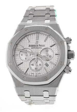 Audemars Piguet Royal Oak Chronograph 41Mm Stainless Steel Watch 26320St.oo.1220St.02 Silver / None
