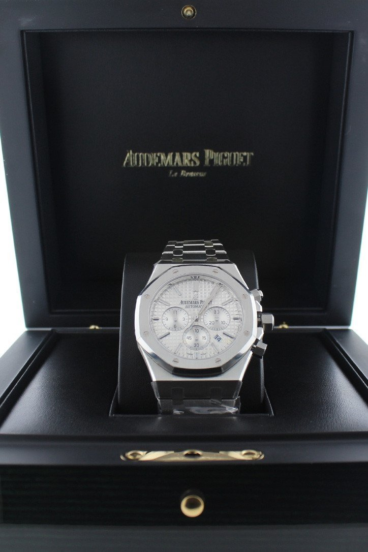 Audemars Piguet Royal Oak Chronograph 41Mm Stainless Steel Watch 26320St.oo.1220St.02