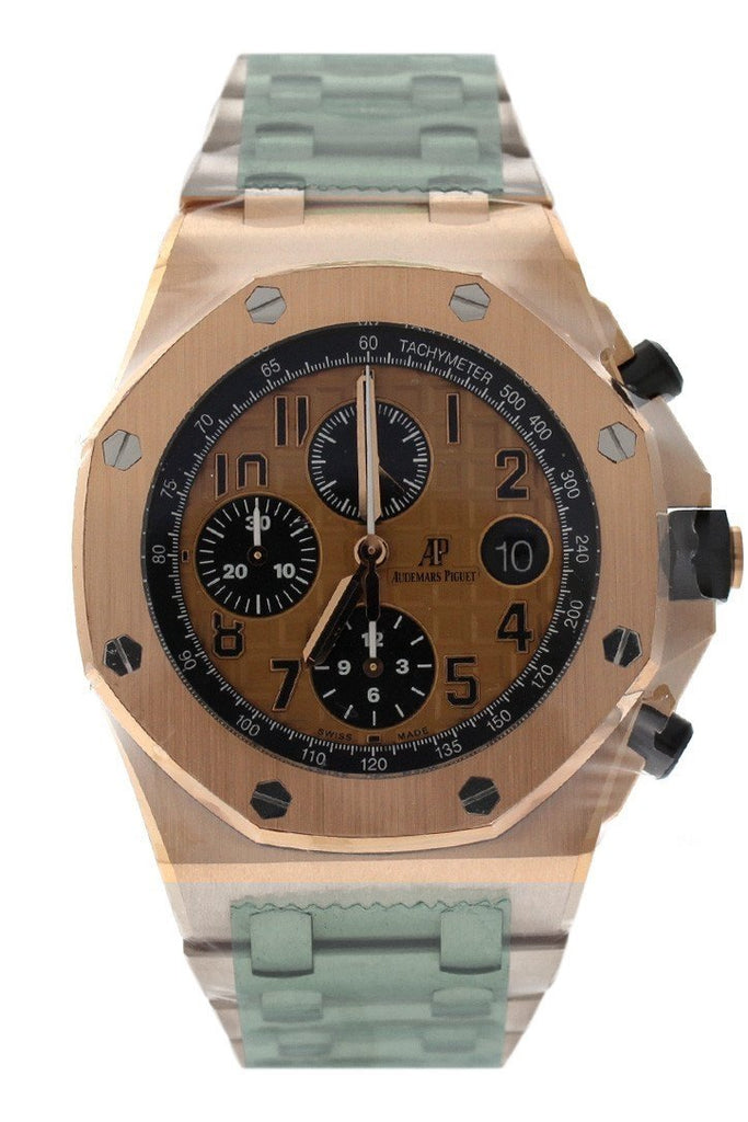 Audemars Piguet Royal Oak Offshore Chronograph Pink Gold Dial 18Kt Mens Watch 26470Or.oo.1000Or.01 /