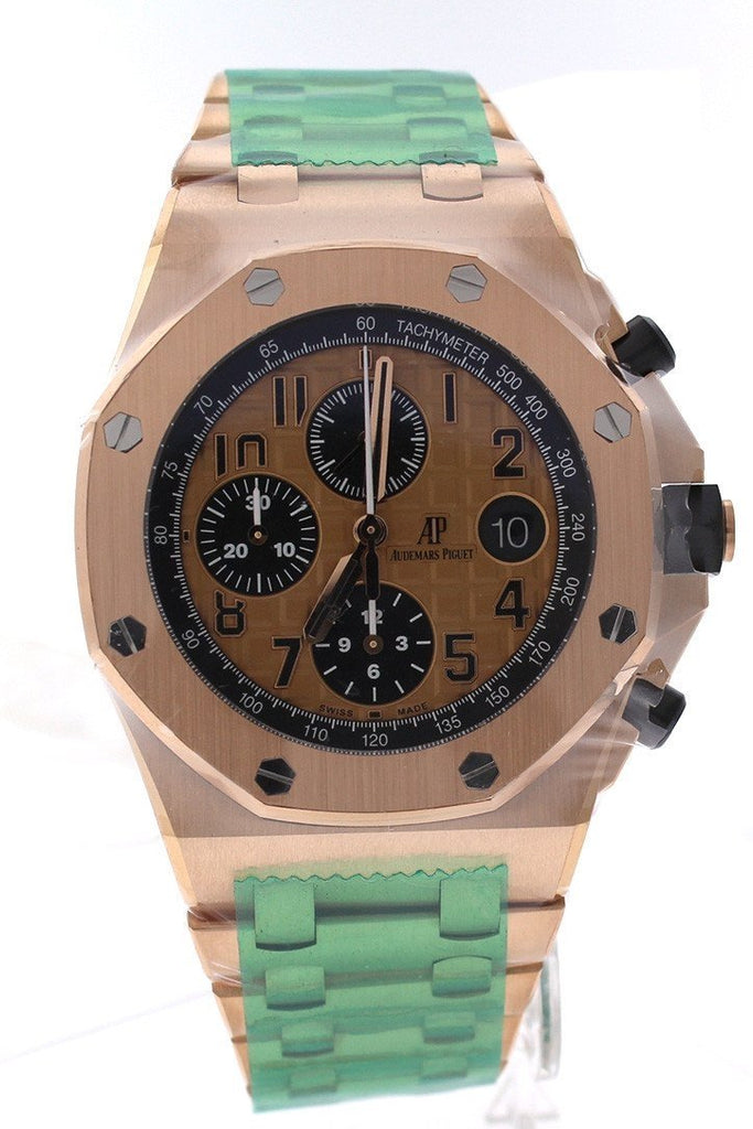 Audemars Piguet Royal Oak Offshore Chronograph Pink Gold Men's Watch 26470OROO1000OR0126470OR.OO.1000OR.01 review