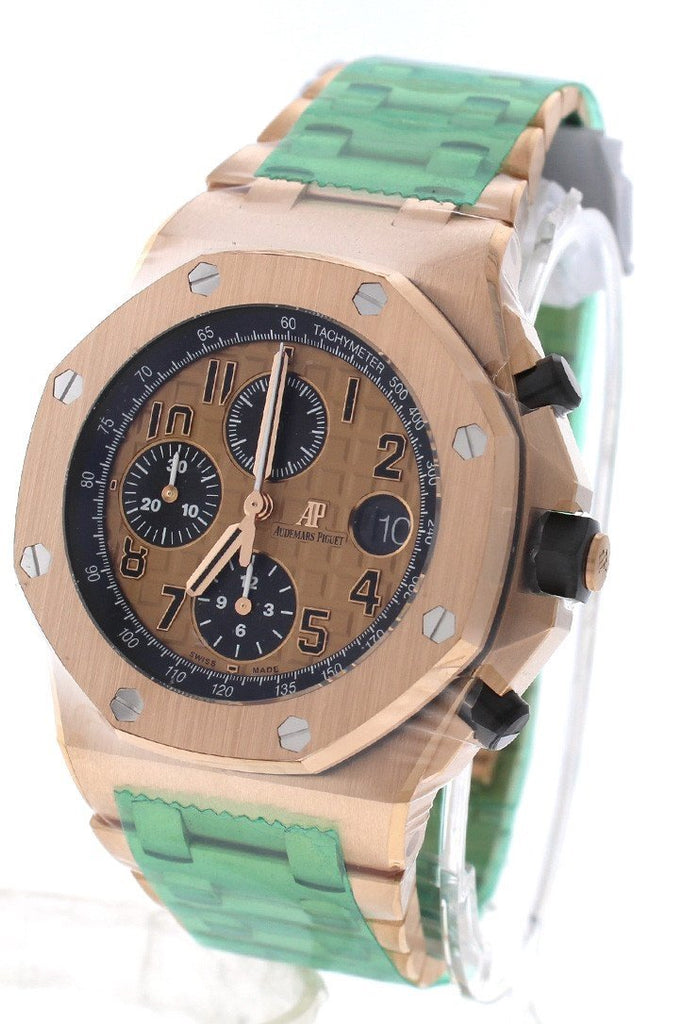 Audemars Piguet Royal Oak Offshore Chronograph Pink Gold Men's Watch 26470OROO1000OR01Audemars Piguet Royal Oak Offshore Chronograph Pink Gold Men's Watch 26470OROO1000OR0126470OR.OO.1000OR.01 review