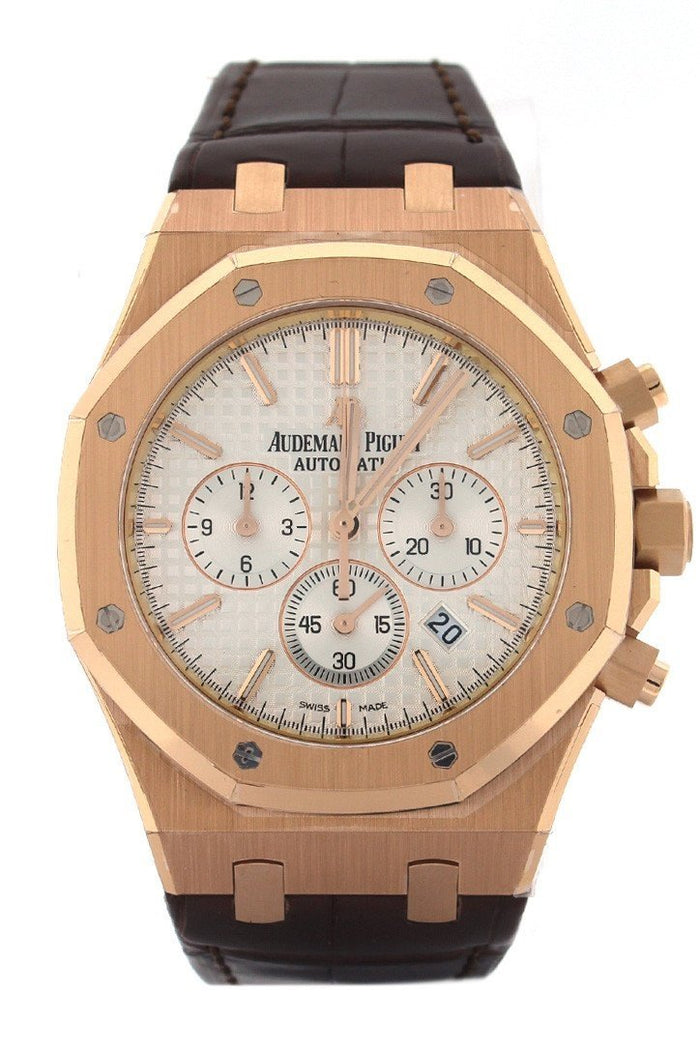 Audemars Piguet Royal Oak Offshore Chronograph 41mm Pink Gold Watch 26320OR.OO.D088CR.01