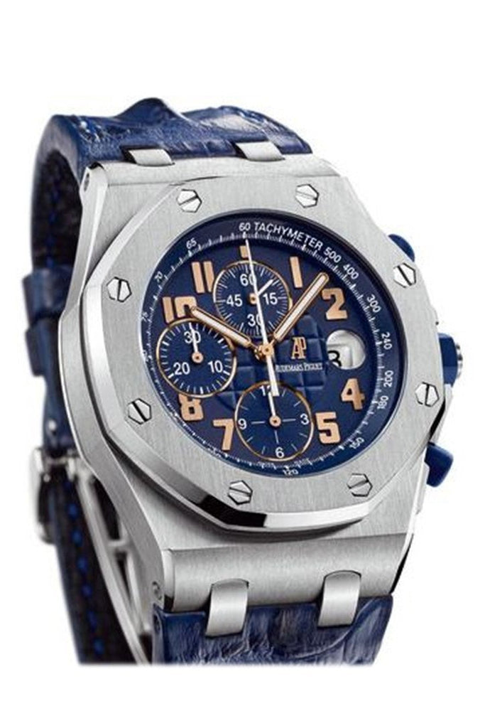 Audemars Piguet Royal Oak Offshore Pride Of Argentina Mens Watch 26365Is.oo.d305Cr.01 Blue / None