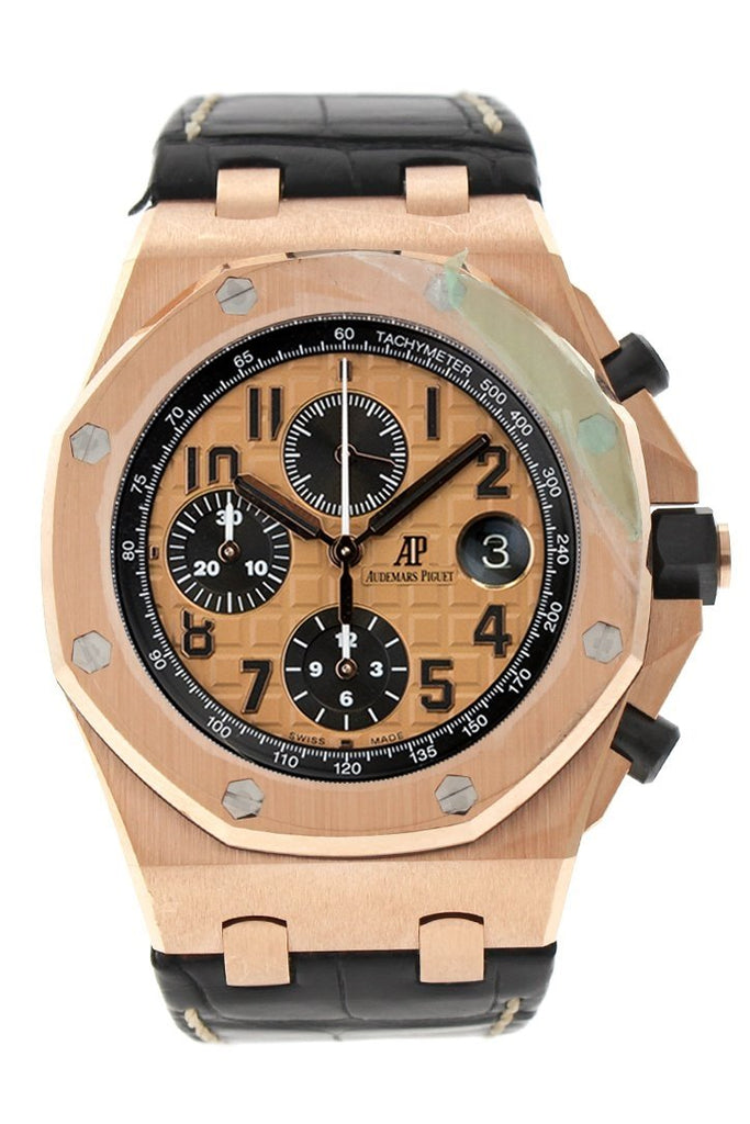 Audemars Piguet Royal Oak Offshore Champagne Dial Rose Gold 26470Or.oo.a002Cr.01 Watch