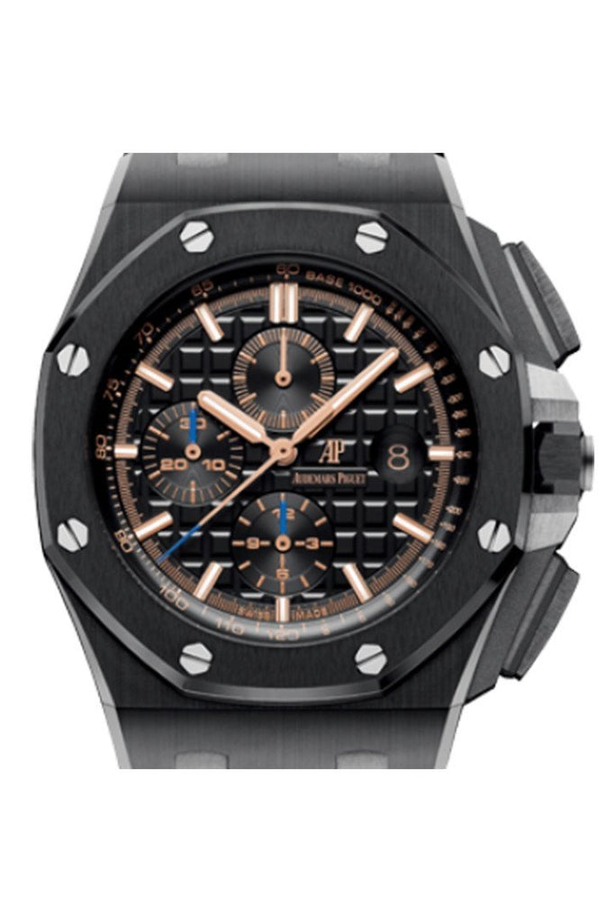 Audemars Piguet Royal Oak Offshore Black Chronograph Dial Ceramic Watch 26405CE.OO.A002CA.02