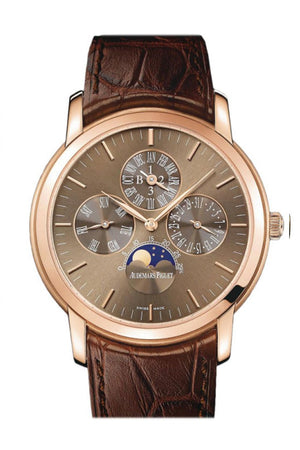 Audemars Piguet Jules Perpetual Calendar Automatic Rose Gold Mens Watch 26390Or.oo.d093Cr.01