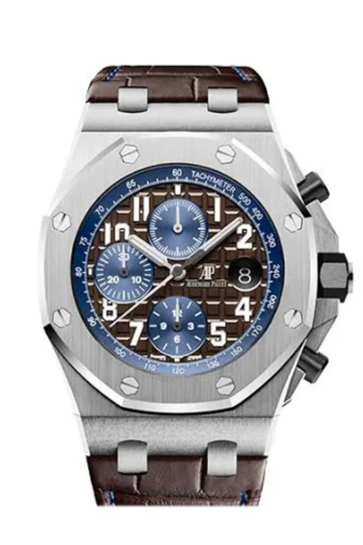 Audemars Piguet Royal Oak Offshore Brown Dial Chronograph 26470St.oo.a099Cr.01 Watch