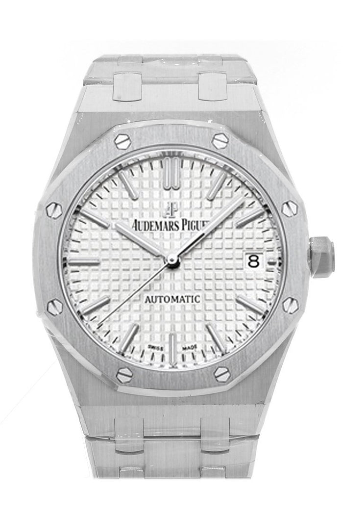 Audemars Piguet Royal Oak 37mm Automatic Silver Dial Stainless Steel Unisex Watch 15450ST.OO.1256ST.01