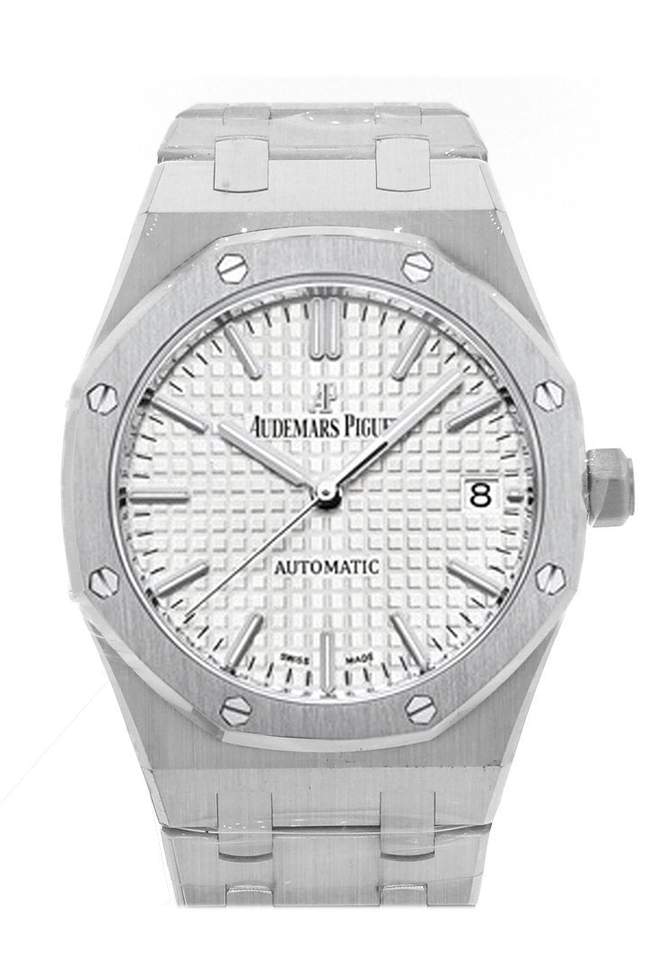 Audemars Piguet Royal Oak 37Mm Automatic Silver Dial Stainless Steel Unisex Watch